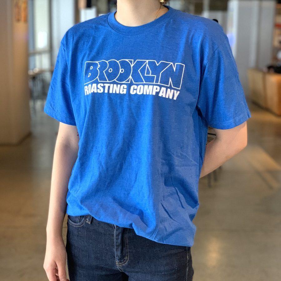 Original T-shirt (Blue × White Logo)