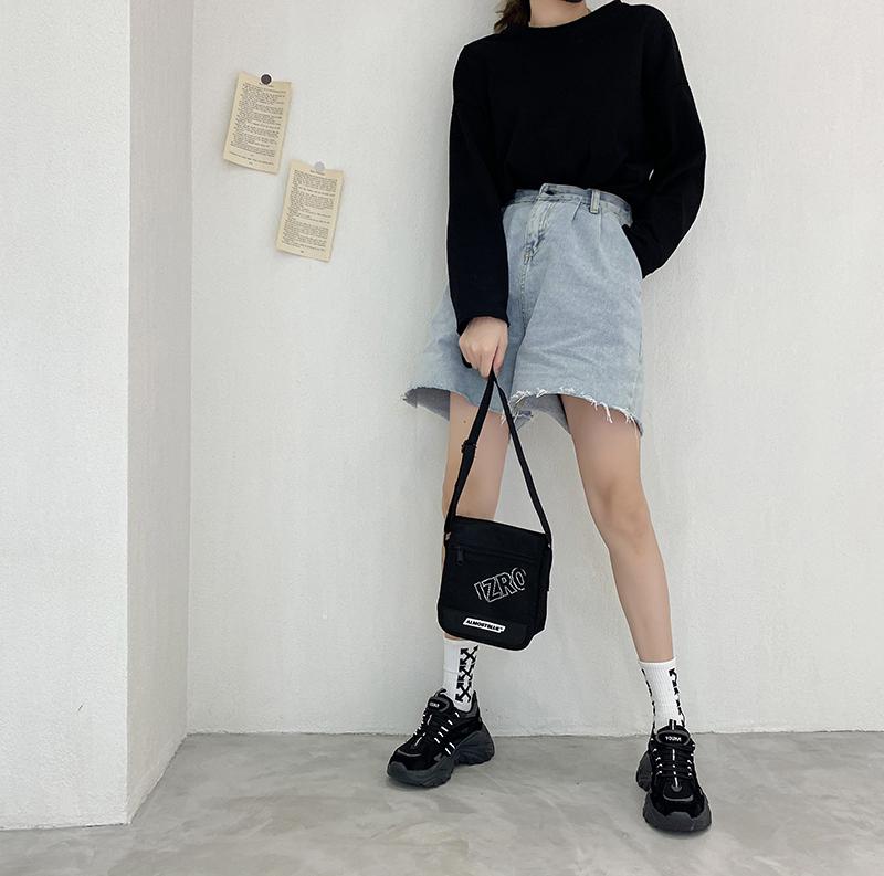 フィッシュボーン厚底シューズ【fish bone platform shoes】