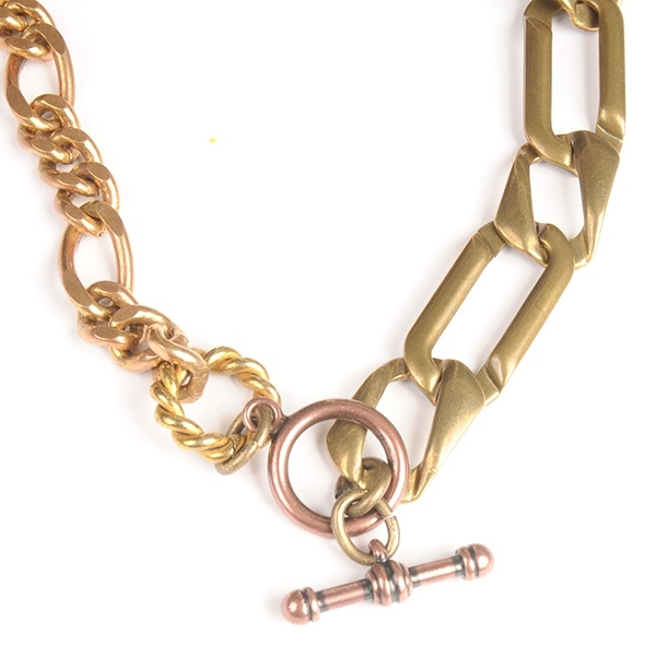 df17SM-IRFG04 JOIN CHAIN NECKLACE B (gold)
