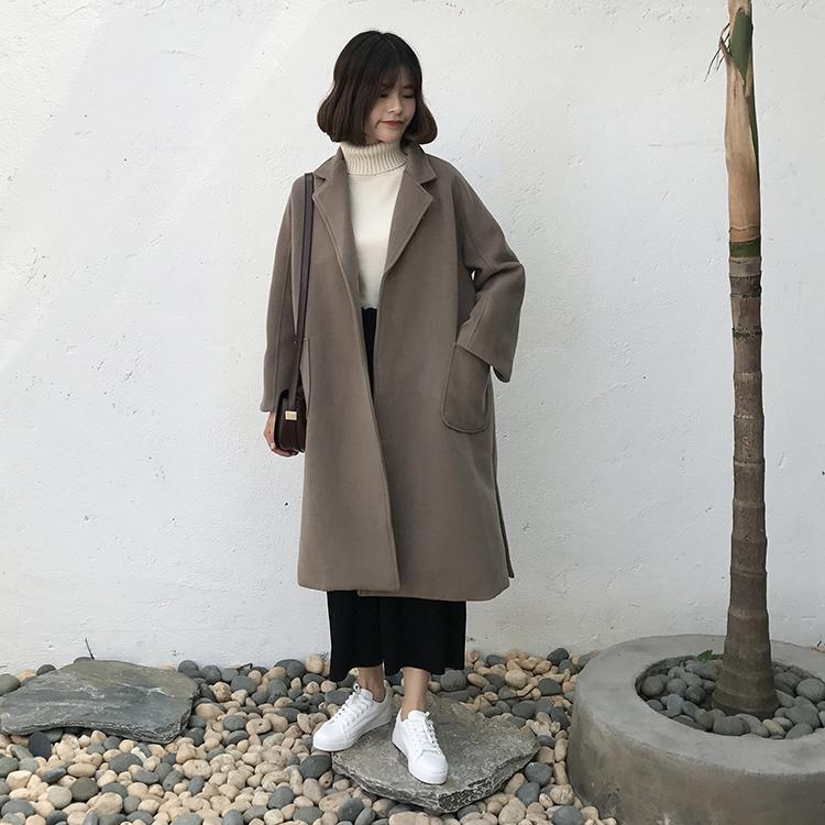 【送料無料】通勤通学に♡ あったか ロング チェスターコート
