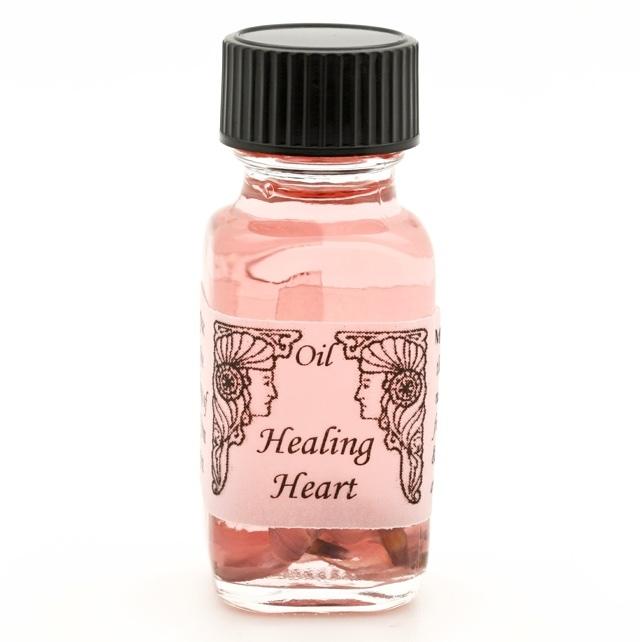 【Healing Heart 心を癒す】 メモリーオイル ヒーリングハート