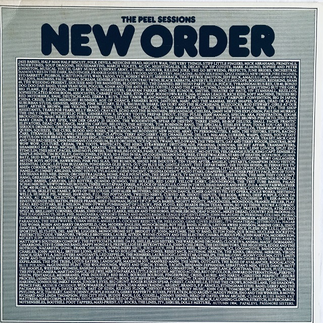 【12inch・英盤】New Order  /  The Peel Sessions (1st June 1982)