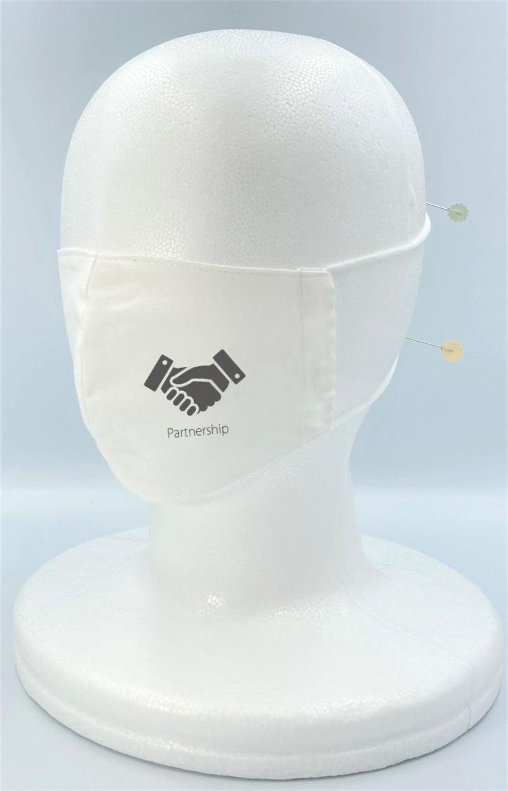つたえマスク(Partnership=パートナーシップ)