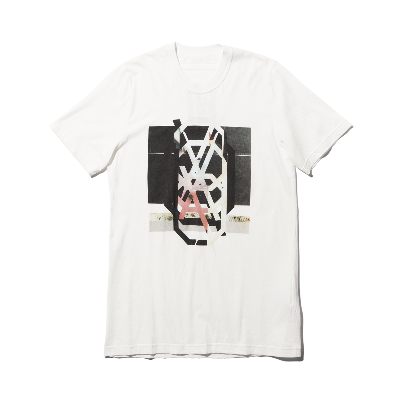 740CPM3-WHITE / NILøS プリント Tシャツ ver.3