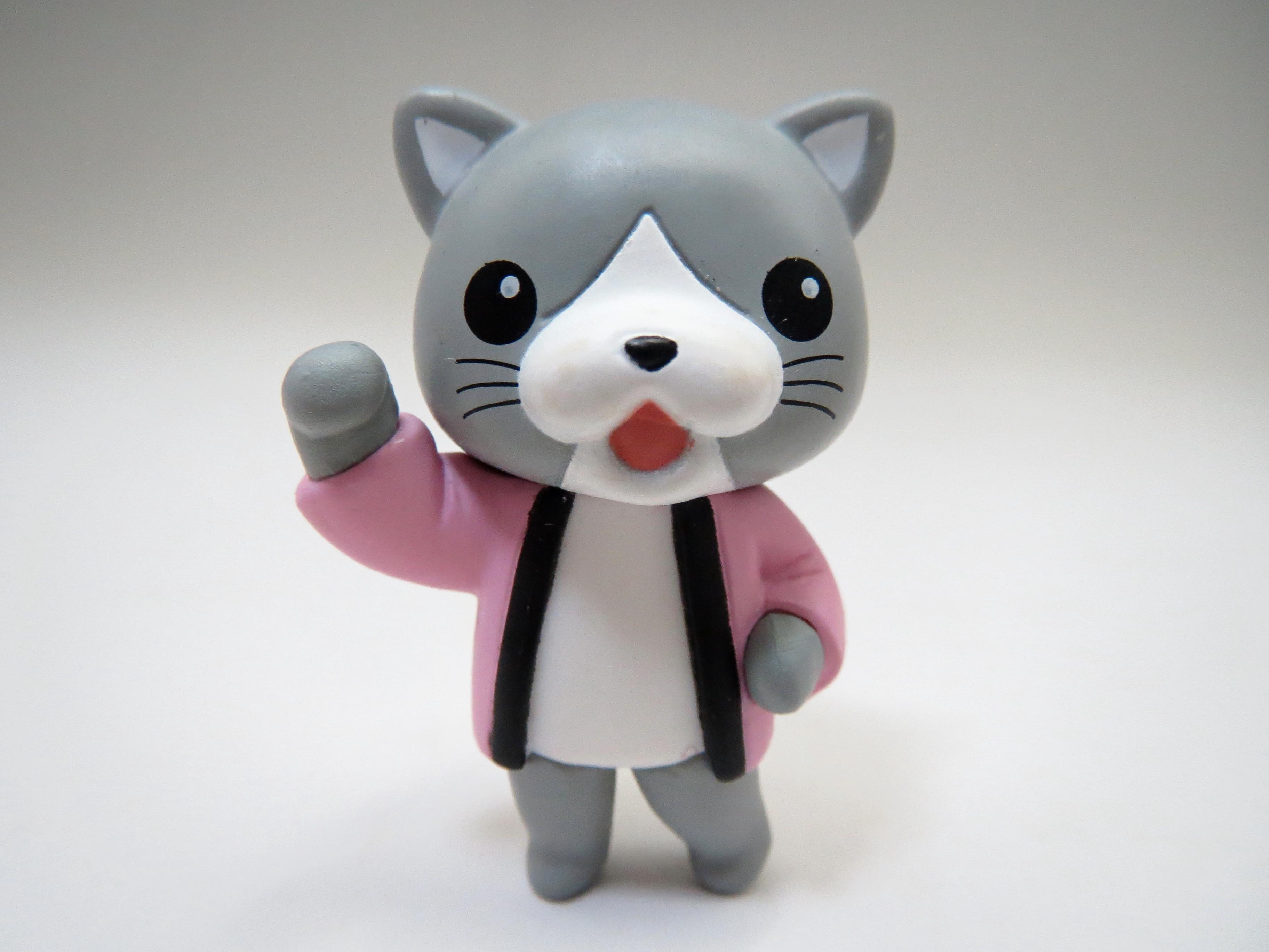 【SALE】【321】 田村ゆかり 小物パーツ くすんだネコ ねんどろいど