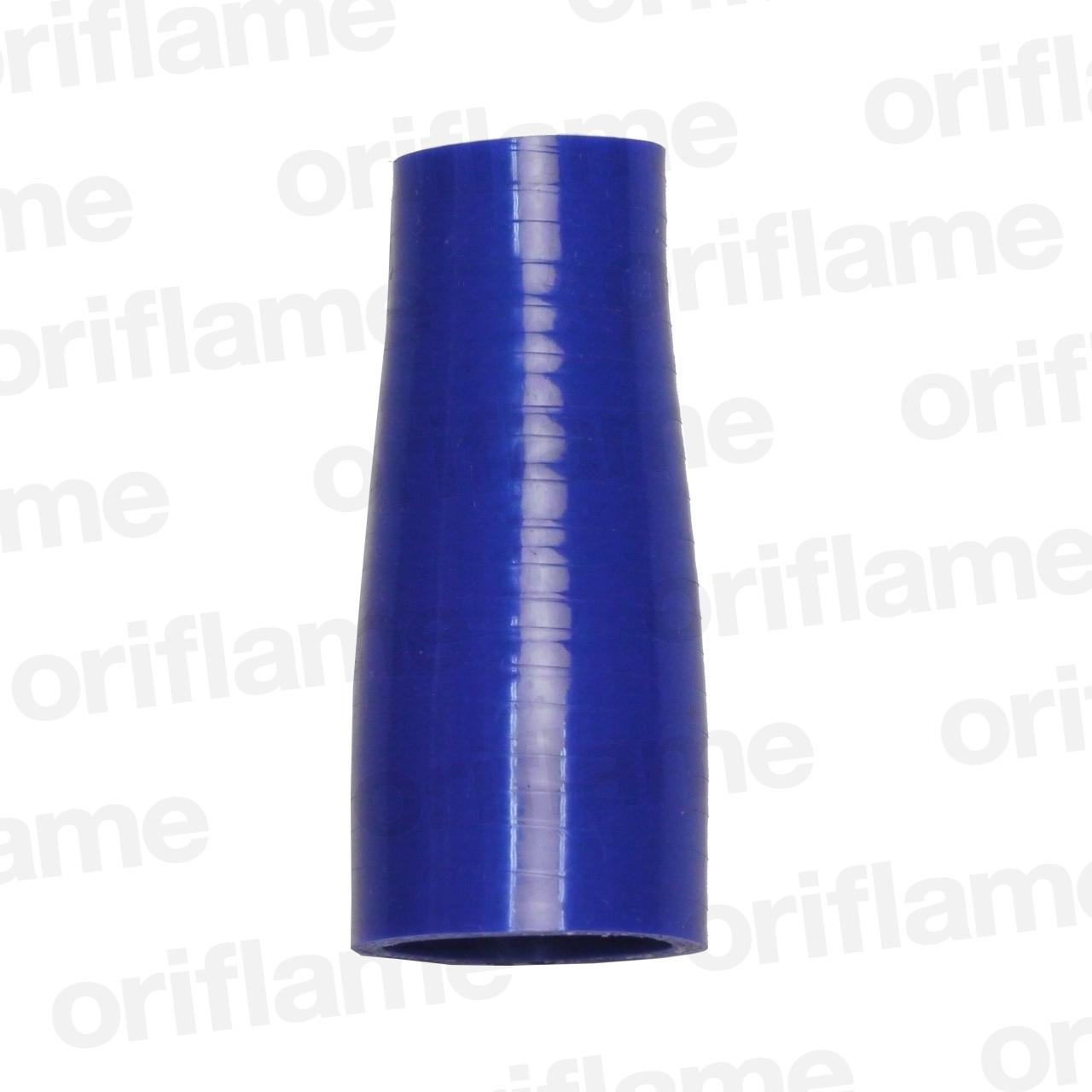 異径・ストレートホース・内径38 x 28mm・ブルー