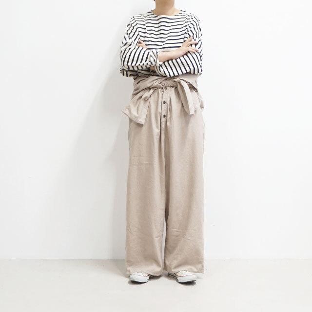 【再入荷なし】 kiino. キイノ 平織シャンブレー起毛オールインワン (品番k-014)