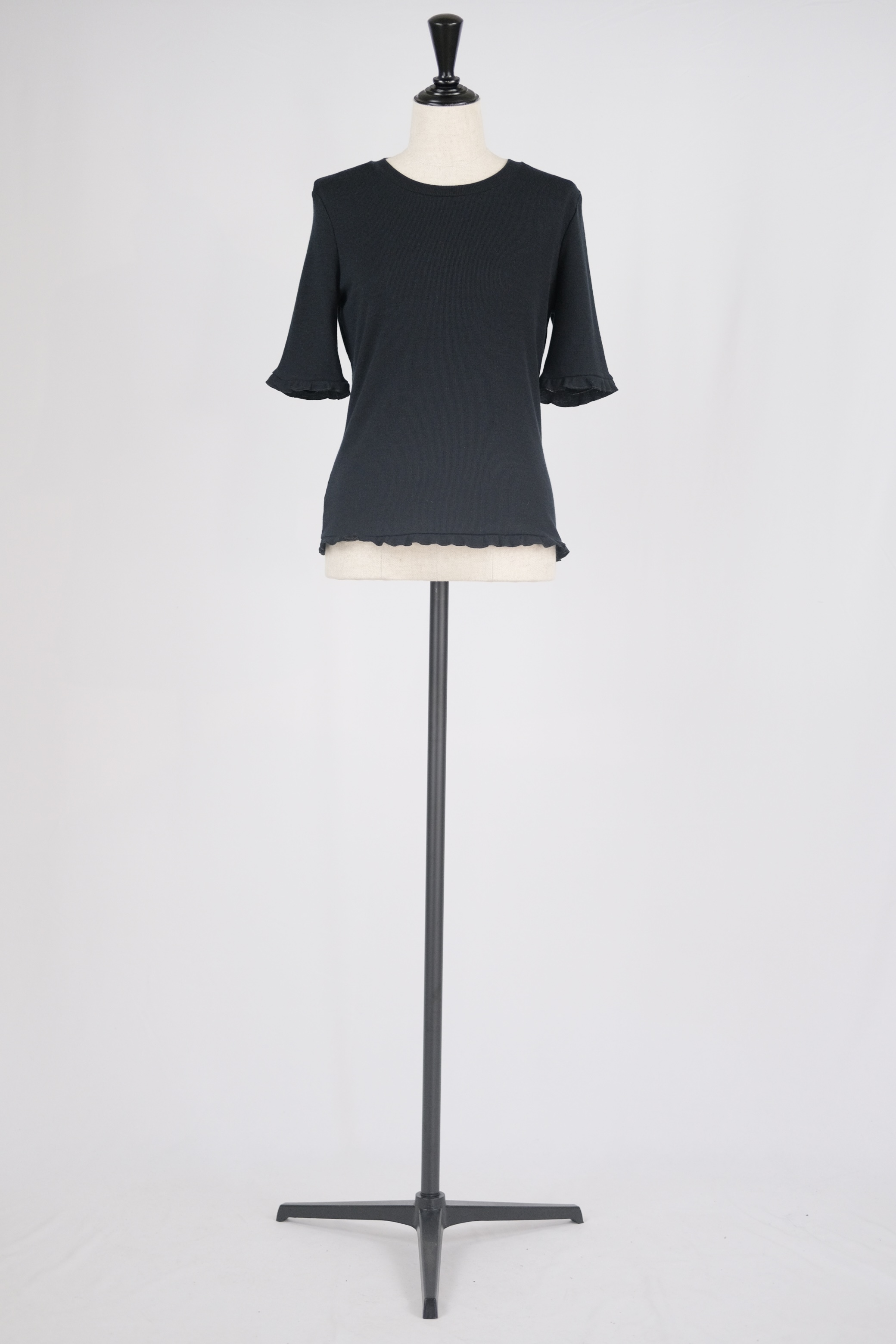 【ABOUT】tops - black