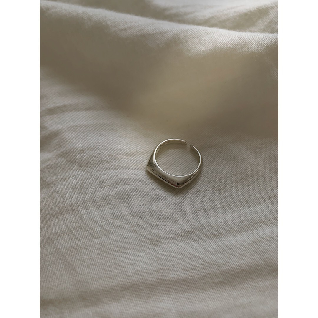 【asyu】silver925 square ring