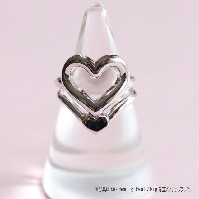Heart V Ring (R18-24)