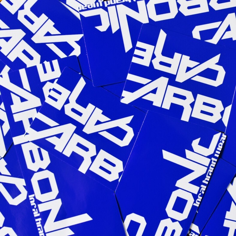 carbonic OLDLOGO sticker