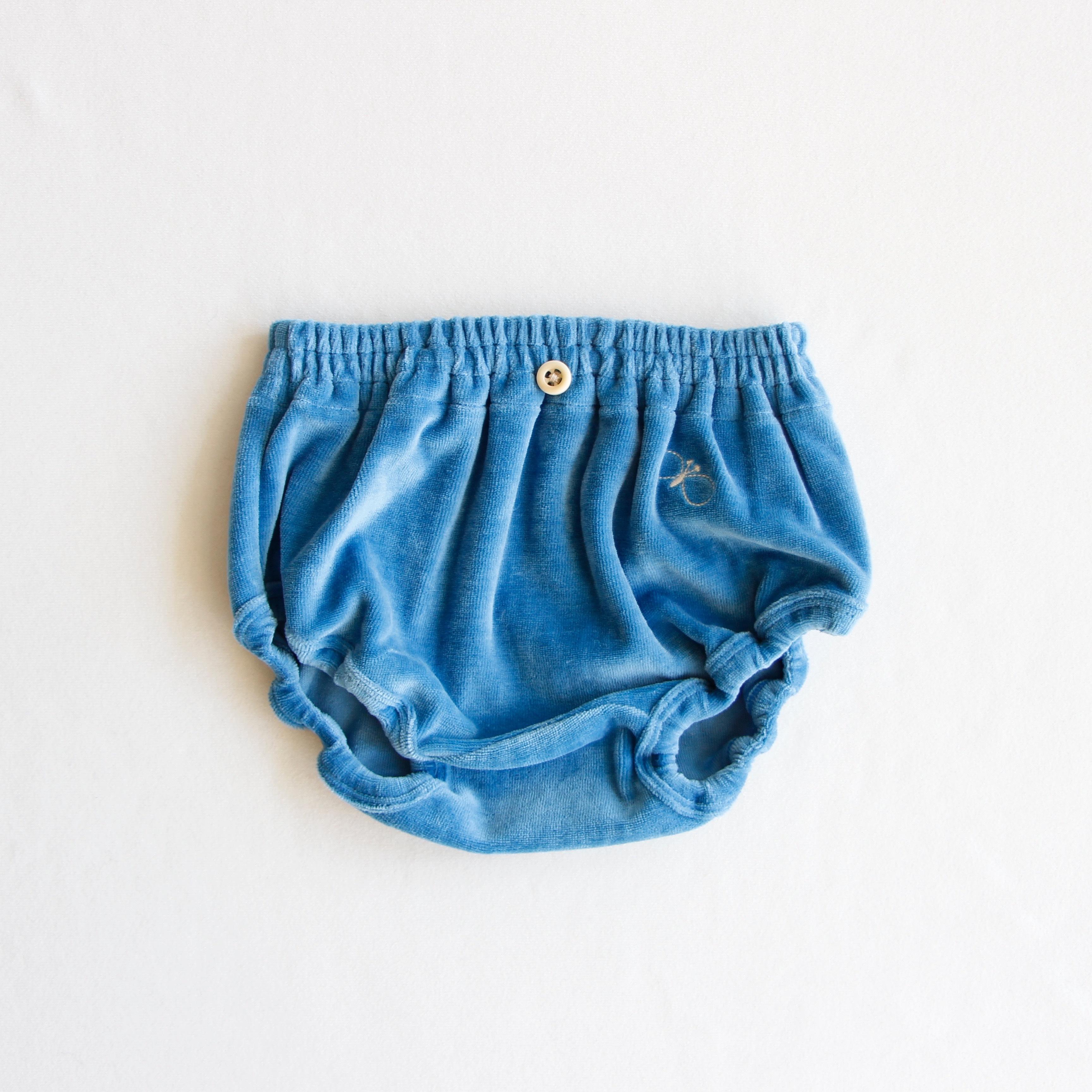 《mina perhonen 2018AW》choucho ブルマ / blue / 80cm