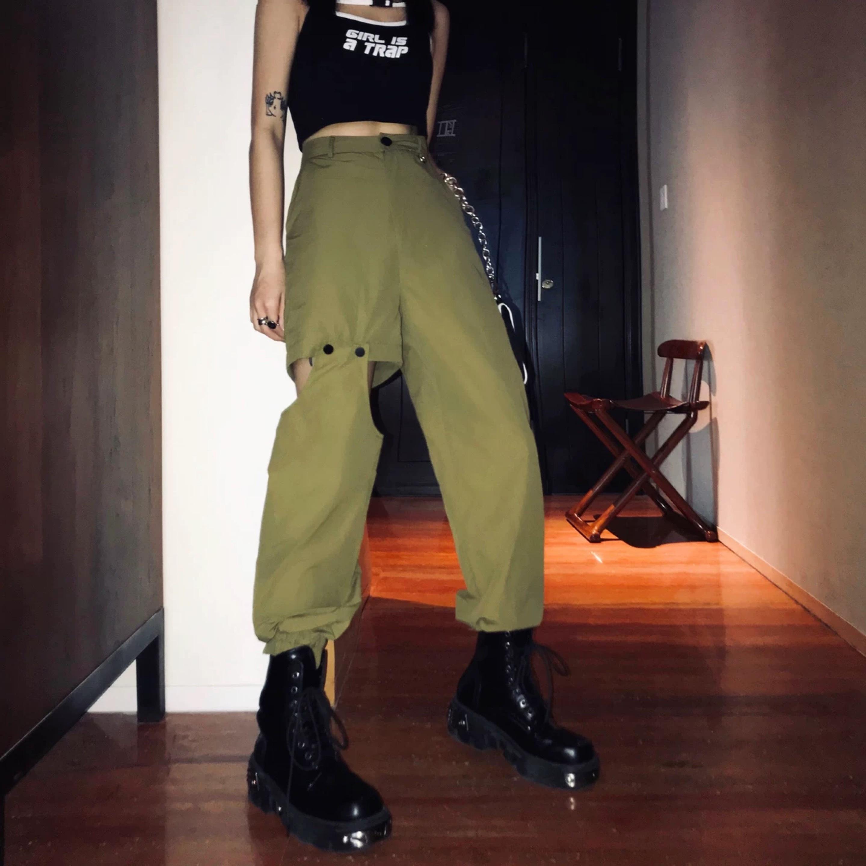 side design loose pants