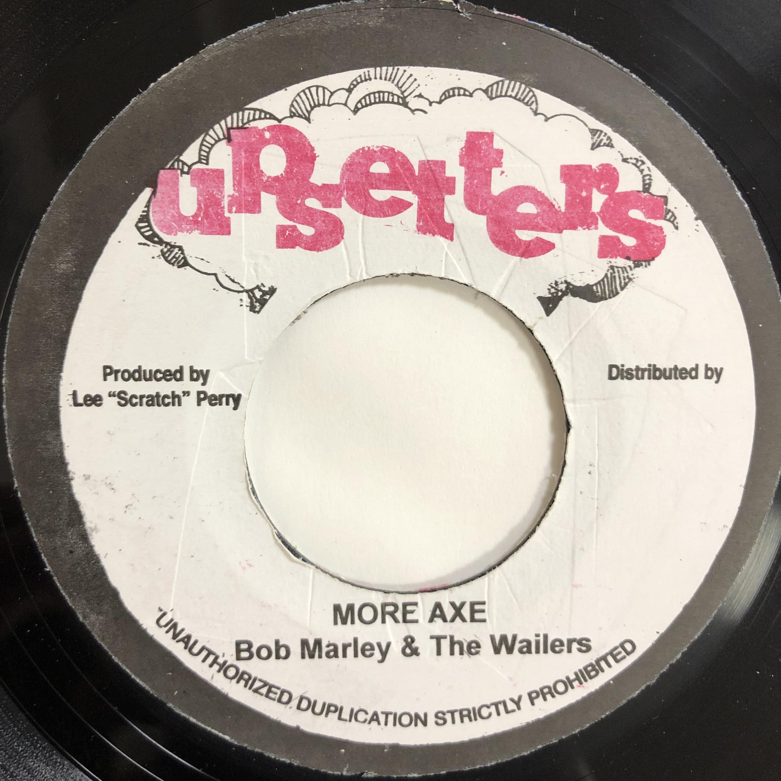 Bob Marley (ボブ・マーリー) & The Wailers (ウェイラーズ) - More Axe【7-20207】