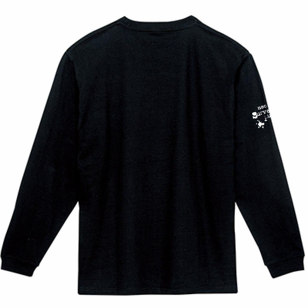 サバパンク・ロングスリーブTEE 2020 / Black
