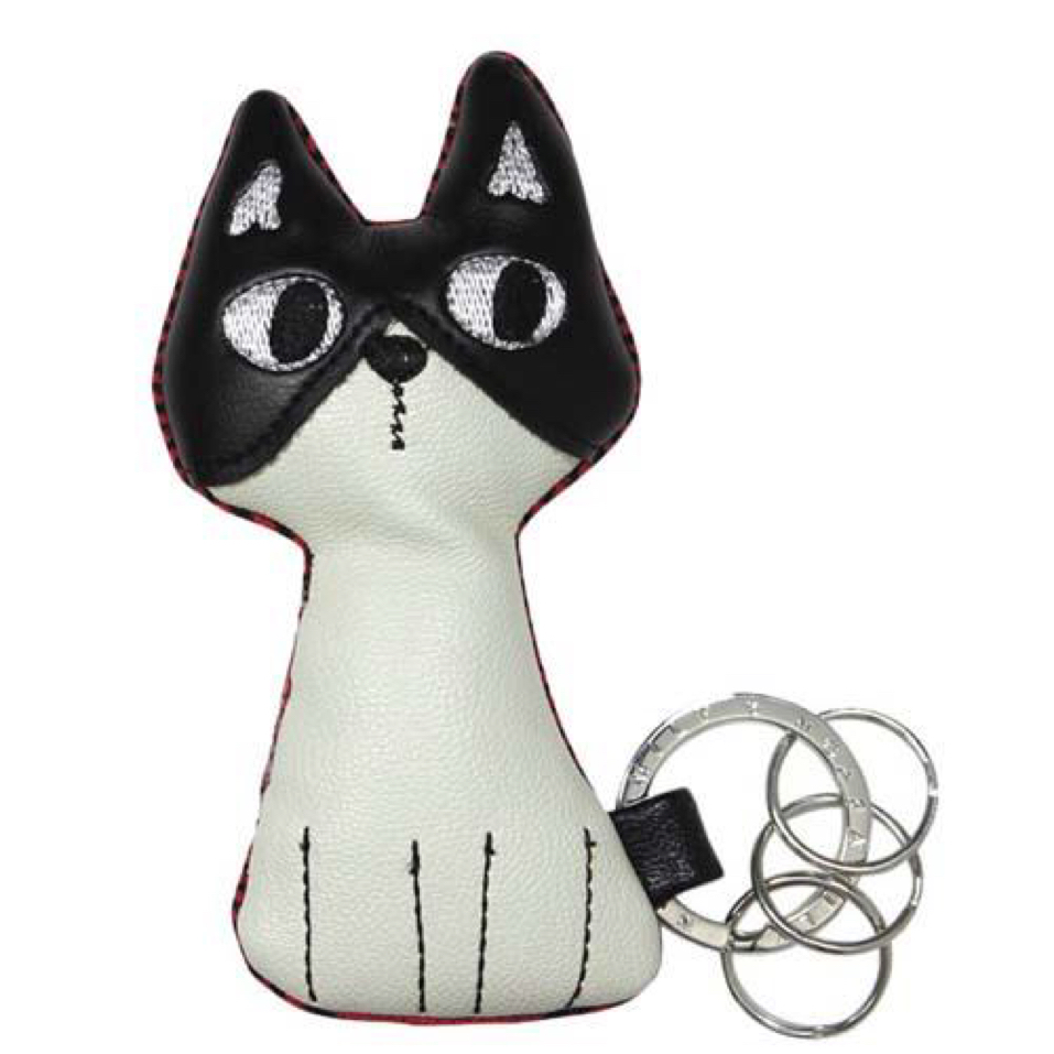 J-CAT キーリング ベージュ