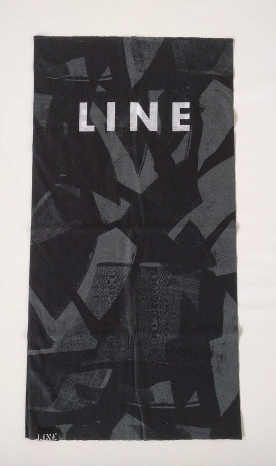 LINE TOOBY ラインスキー ライン ネックチューブ ヘアバンド リストバンド ヘアータイ フェイスマスク バラクラバ
