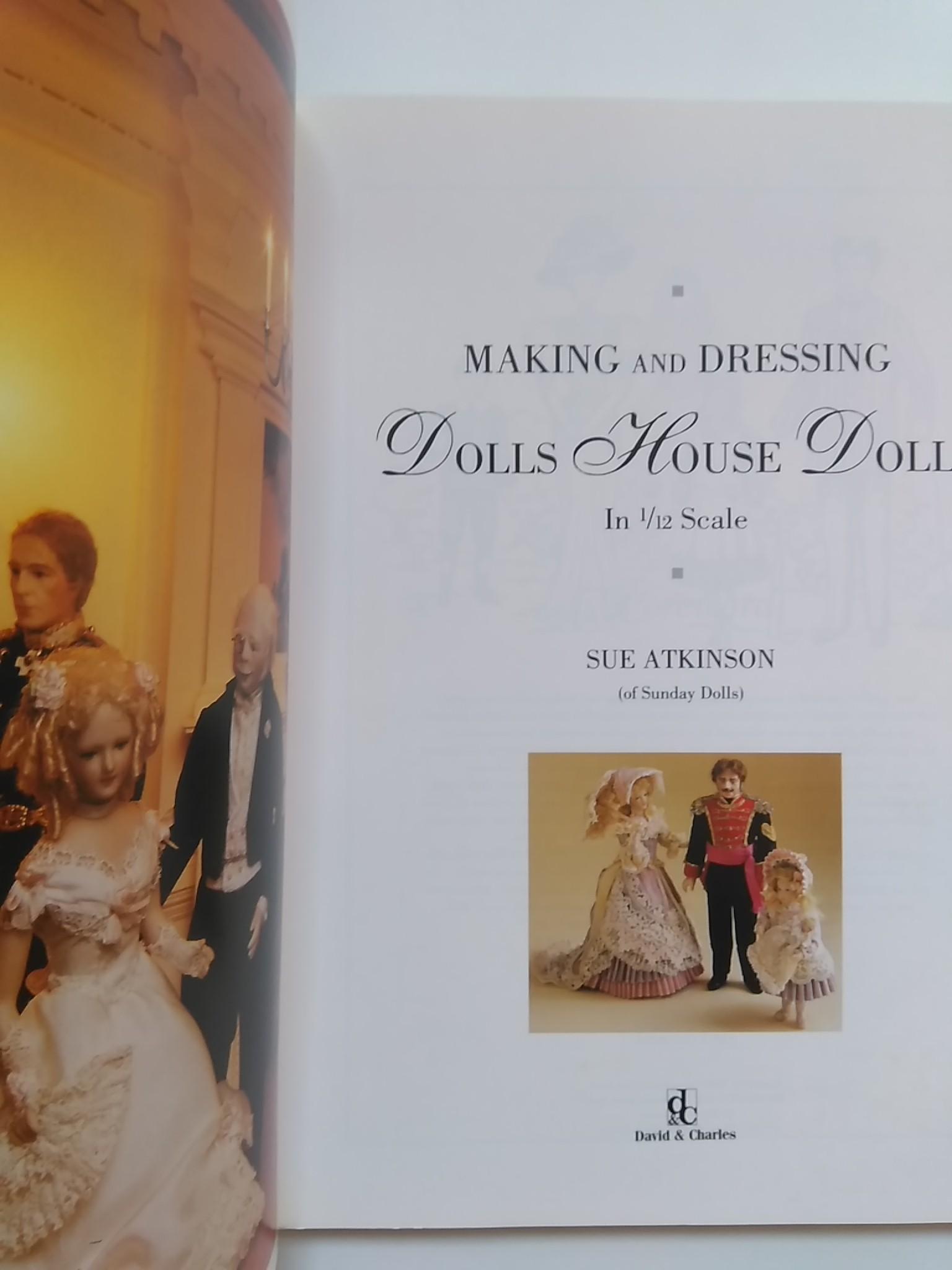 ドールハウスの人形と衣装の作り方 making and dressing dolls house