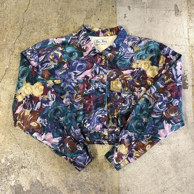 Paris Blues Floral Jacket