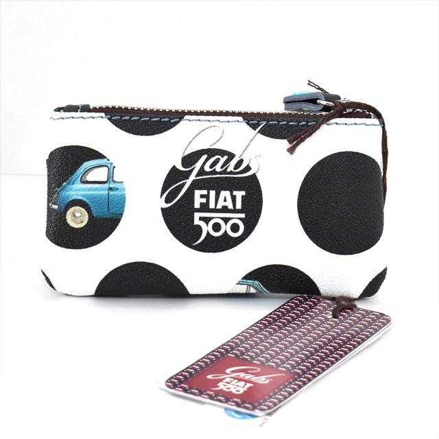 GABS ガブス FIAT500  GKYHOLDER FIAT  キーケース ・ コインケース