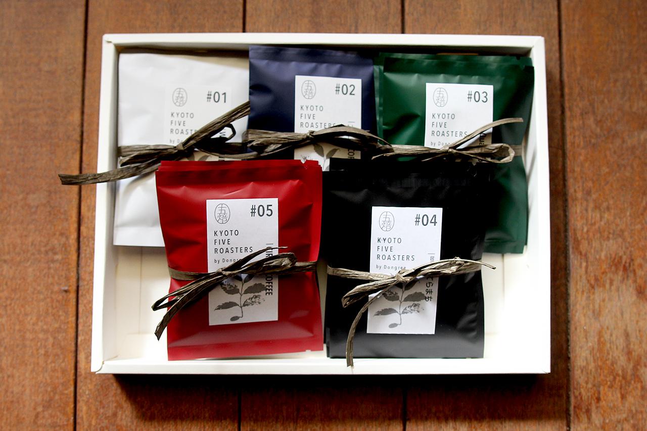 """【徳用15パック】 五焙 """"gobai""""  KYOTO FIVE ROASTERS COFFEE ドリップバッグ"""