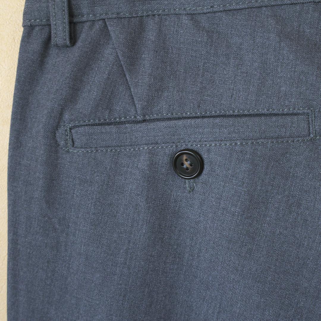 ARBRE アルブル woolish onetuck trousers ウーリッシュワンタックトラウザース【メンズ】