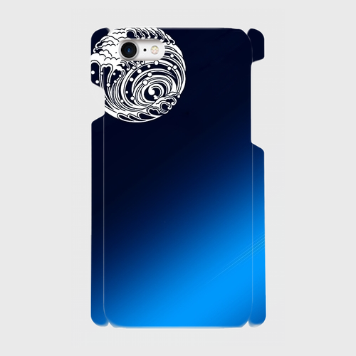 波 / iPhoneスマホケース(ハードケース)