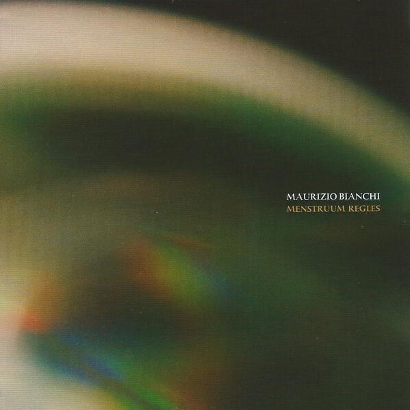 Maurizio Bianchi – Menstruum Regles(CD)