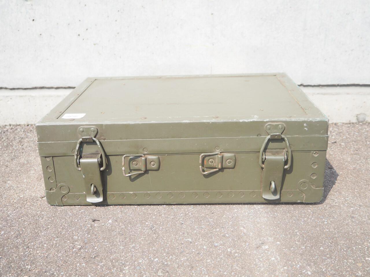 品番0176 ミリタリーツールボックス大 / Tool box