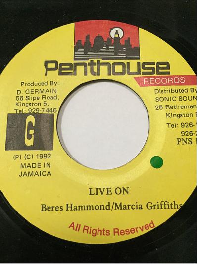 Beres Hammond(ベレスハモンド) & Marcia Griffiths(マーシャグリフィス) - Live On【7'】