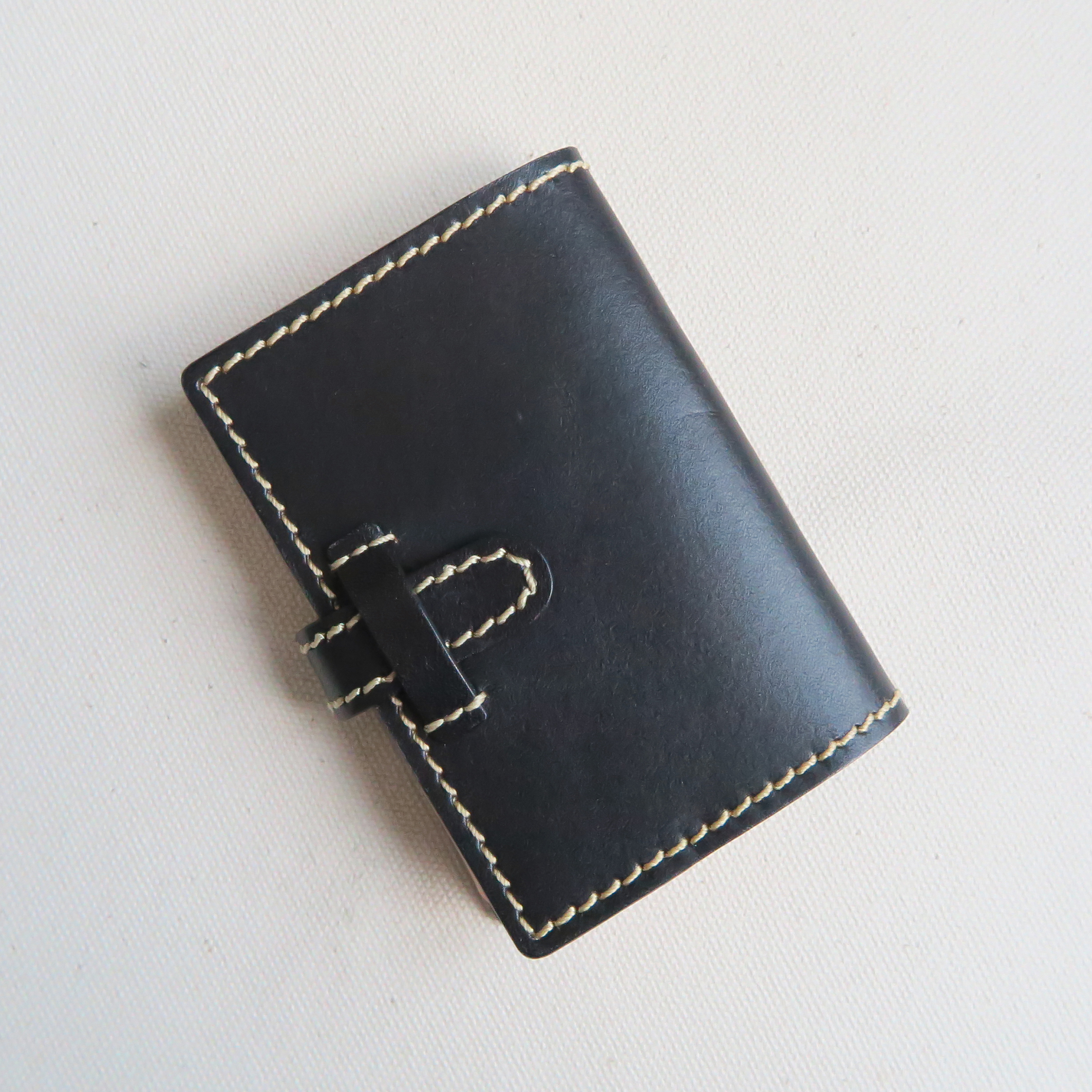 Pocket book card case BLACK