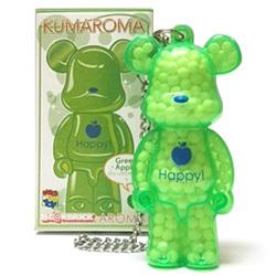 AROMA BE@BRICK KUMAROMA ①Happy! (グリーンアップルの香り)
