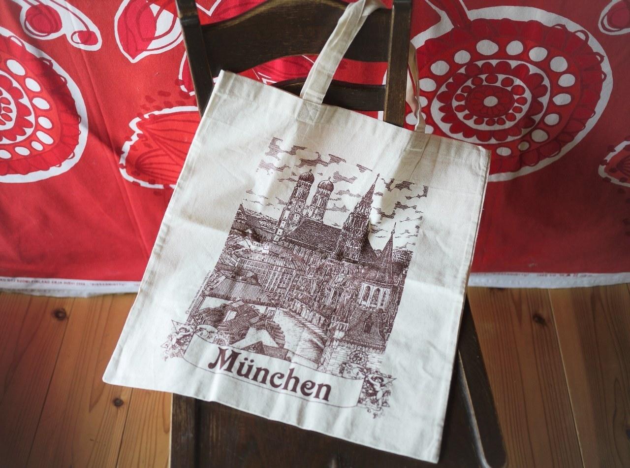 ドイツスーパーマーケット REWE エコバッグ ミュンヘン