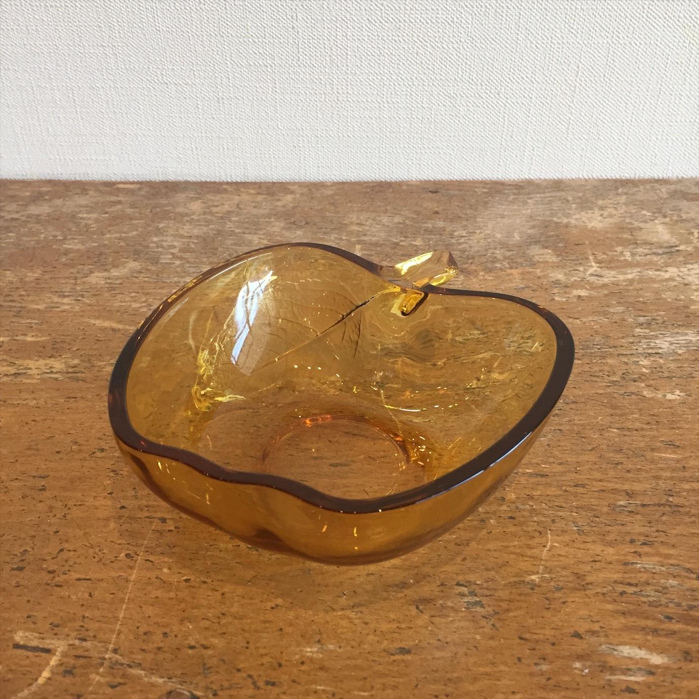 アンバーりんご小鉢
