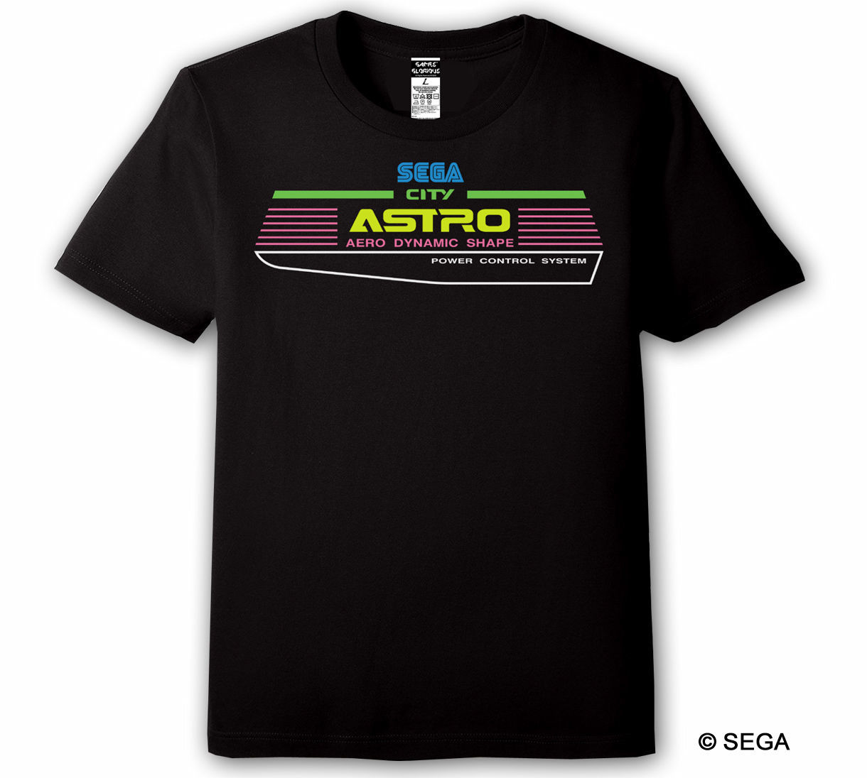 SEGA ASTRO CITY Tシャツ / GAMES GLORIOUS