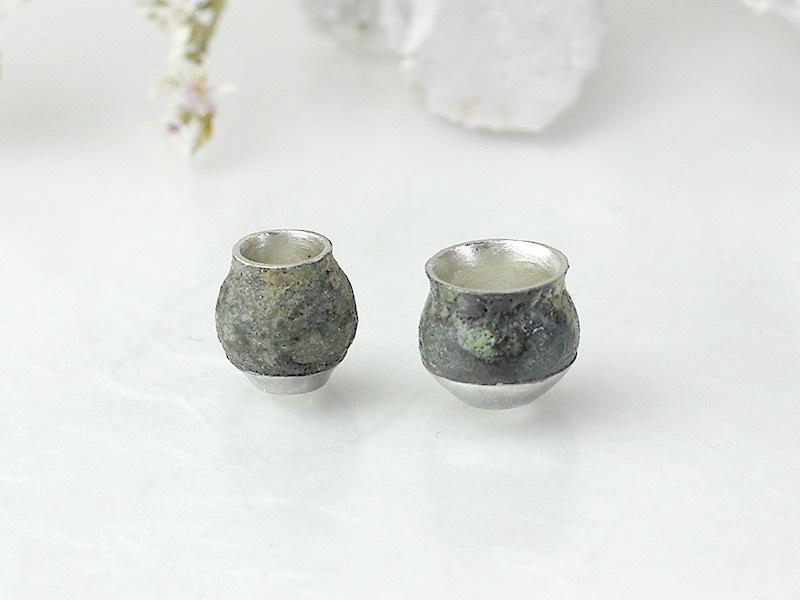 金胎陶芸ネックレス Vase-03