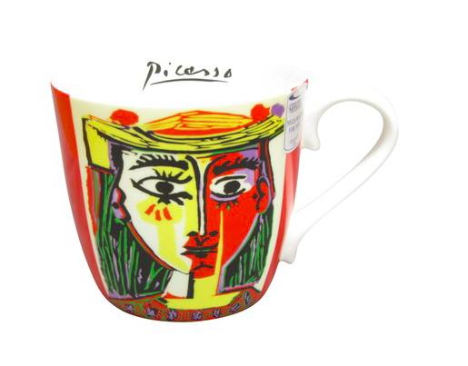 Picasso Femme Au Chapeau ピカソ 帽子の女性 マグカップ / KONITZ