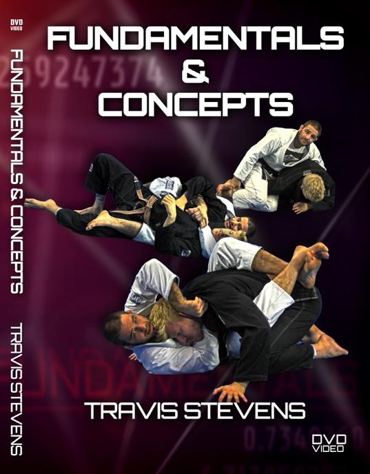トラヴィス・スティーブンス  根源のコンセプト DVD4枚セット|ブラジリアン柔術教則DVD