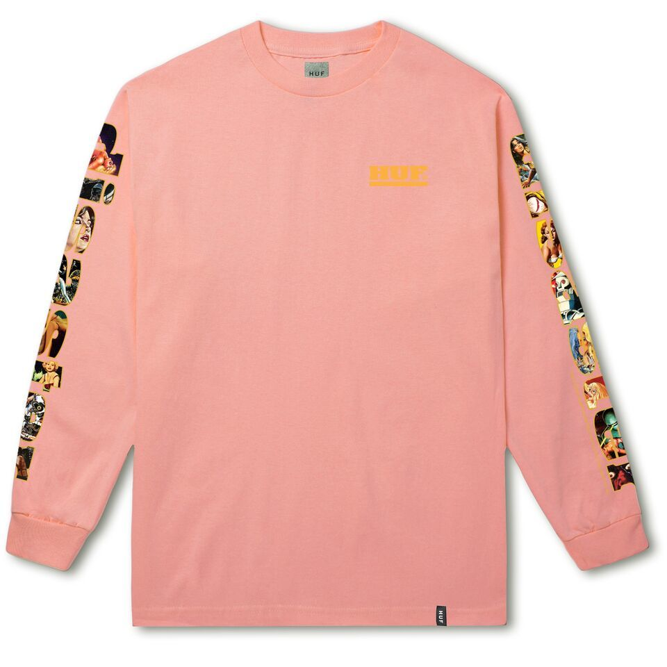 DISASTER L/S TEE CORAL HAZE