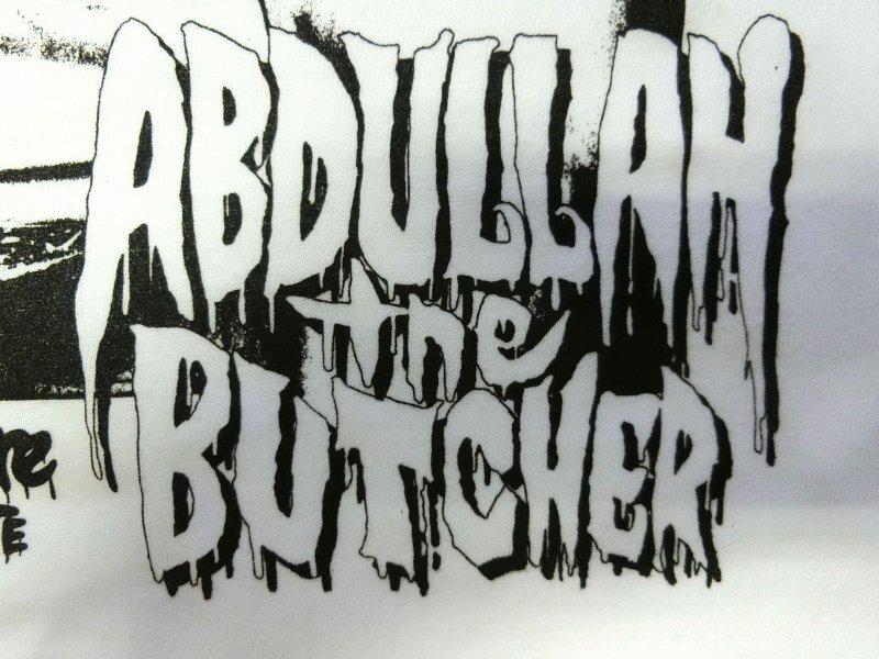 アブドーラ・ザ・ブッチャー/4 DECADES OF BLOODSHED(半袖ラグラン)/ハードコアチョコレート