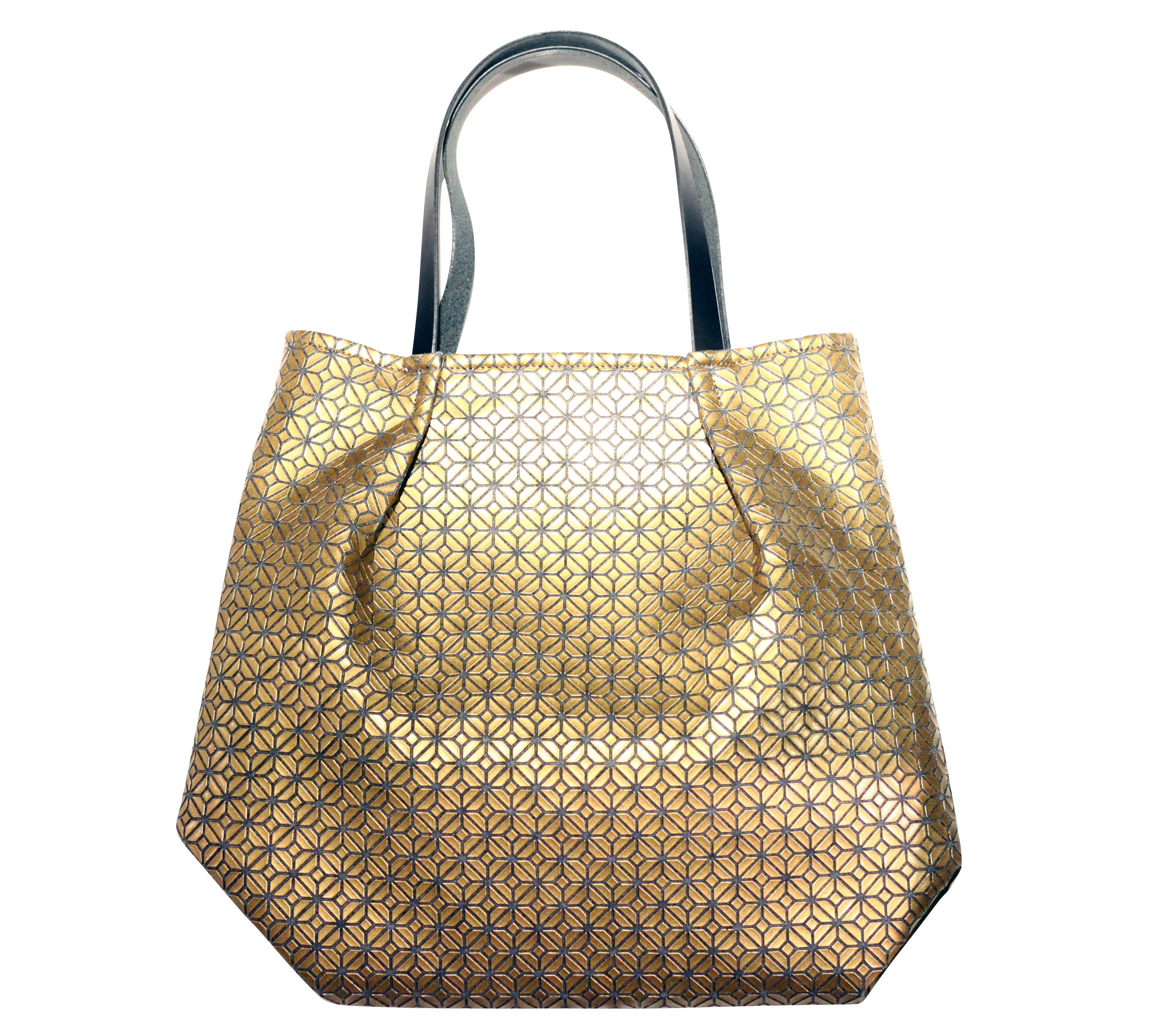 COMMON tote Bag / GOLD GRAY