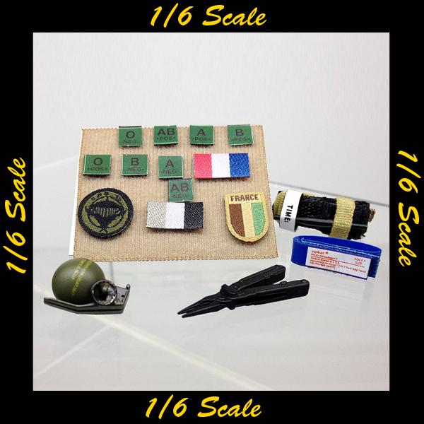 【01264】 1/6 Soldier Story FSF フランス アクセサリー
