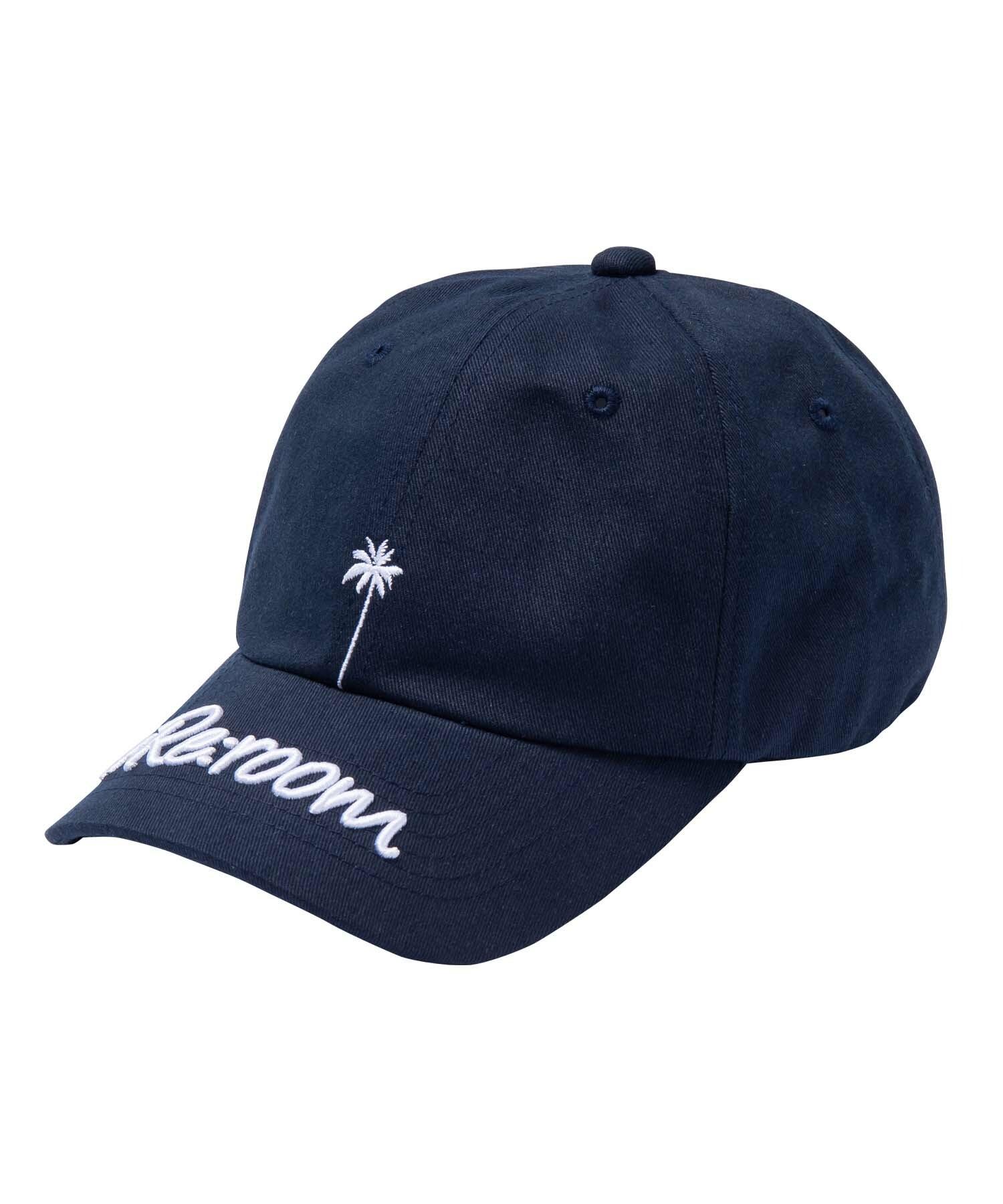 PALM VISOR 3D LOGO TWILL CAP[REH089]