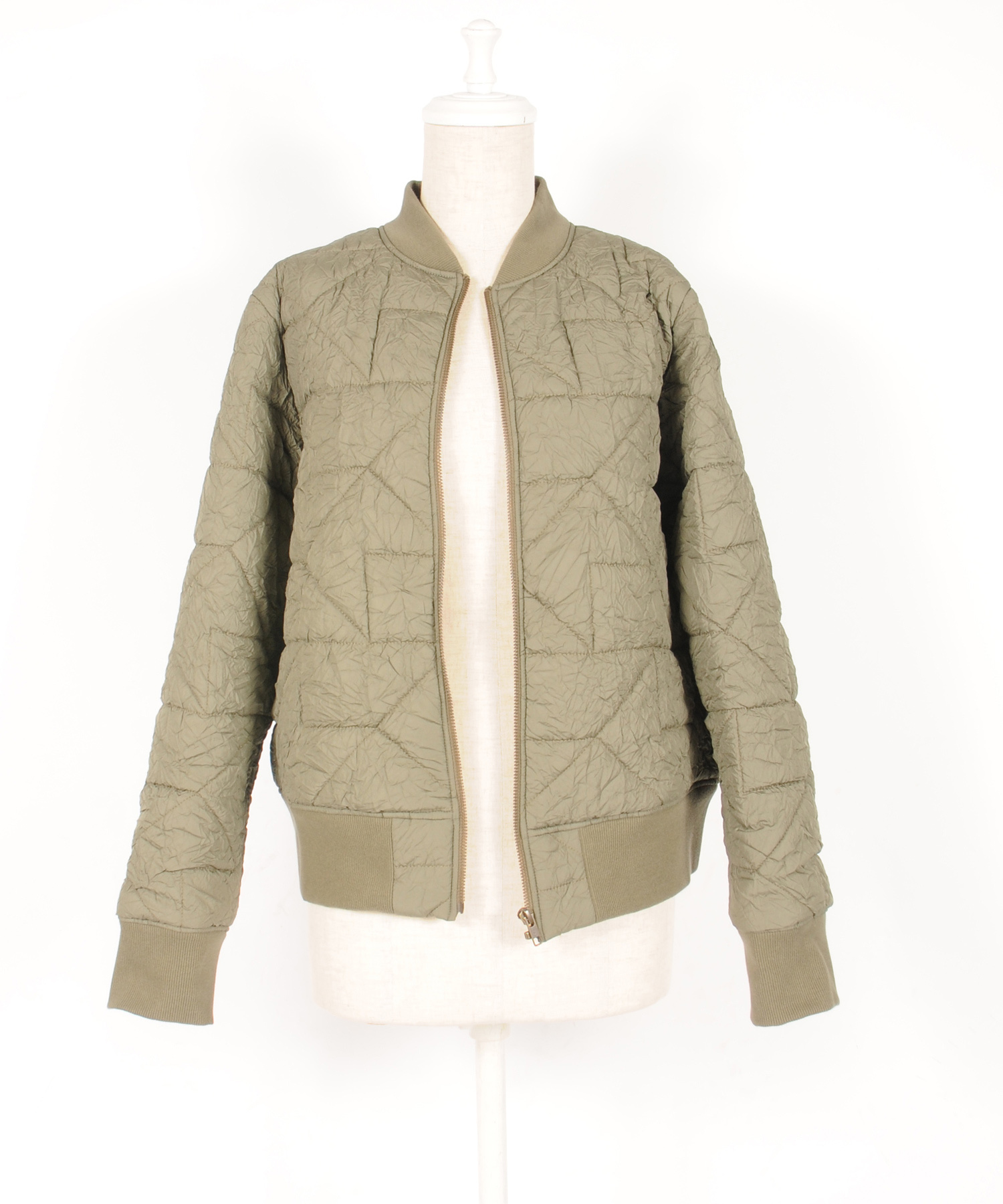 df19AW-02 QUILTING W/BL (olive green)