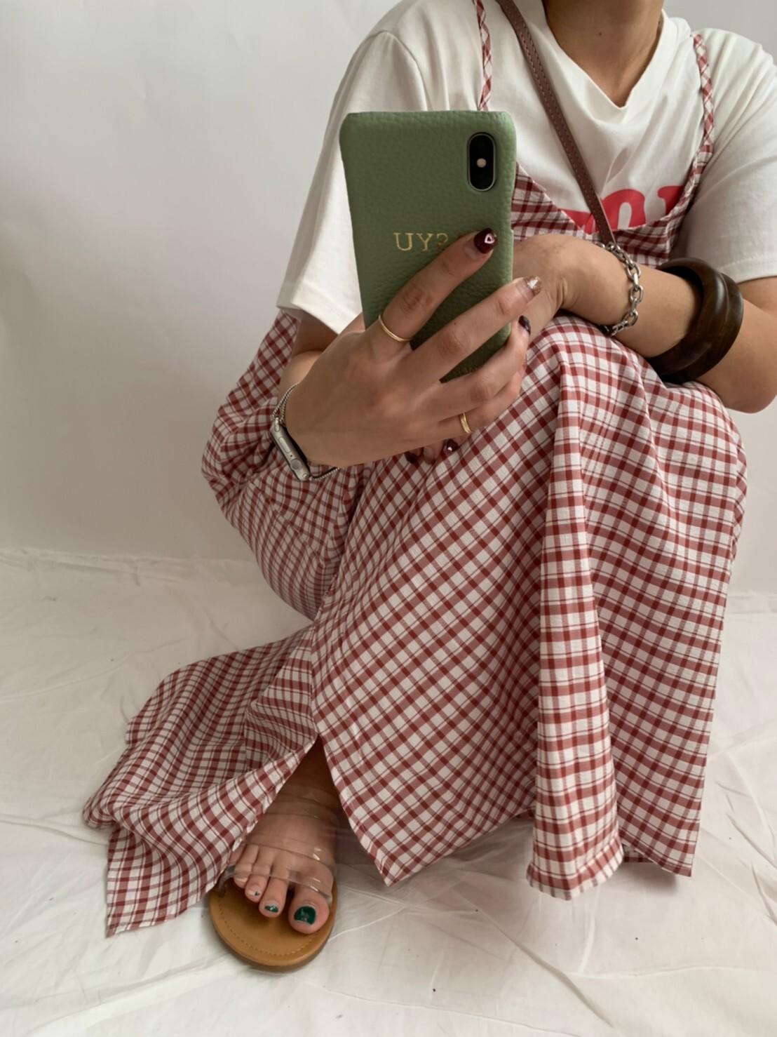 【asyu】check one-piece
