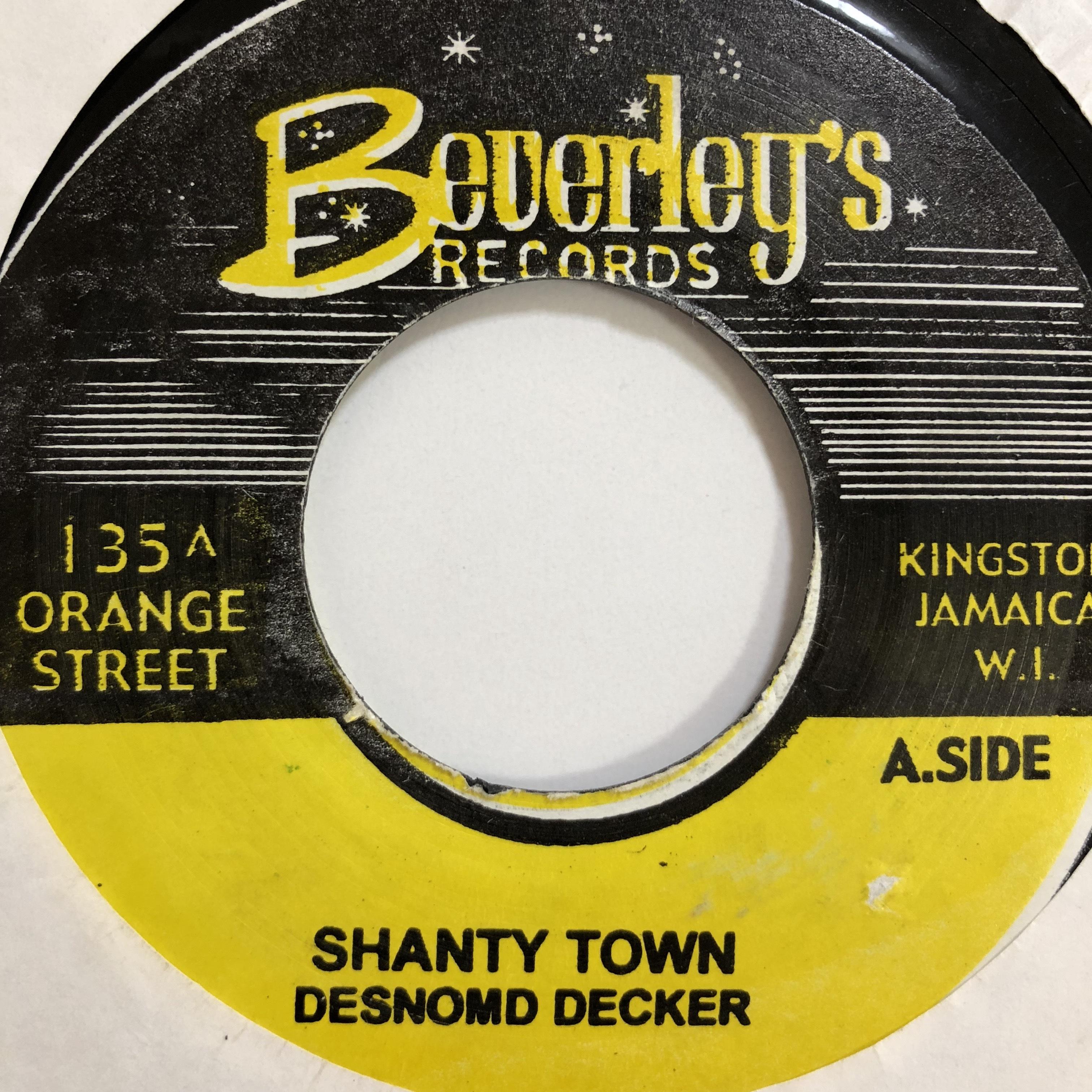 Desmond Dekker(デスモンドデッカー)- Shanty Town【7'】