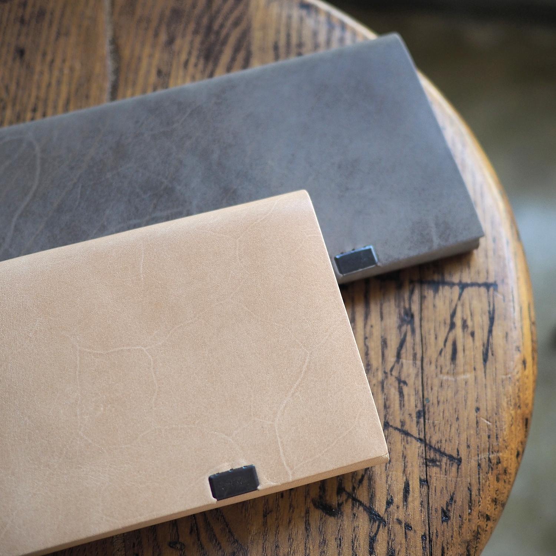 透き通る革の透明感。所作カーフシリーズ・ロングウォレット2色<所作・長財布>NNYHS
