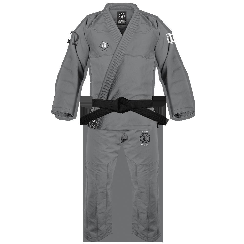 WAR TRIBE GEAR REAPER GI グレイ|ブラジリアン柔術衣(柔術着)