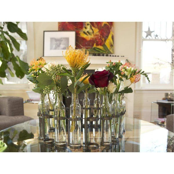 Roost 20-Bottle Serpentine Decorative Vase - RST-GL969
