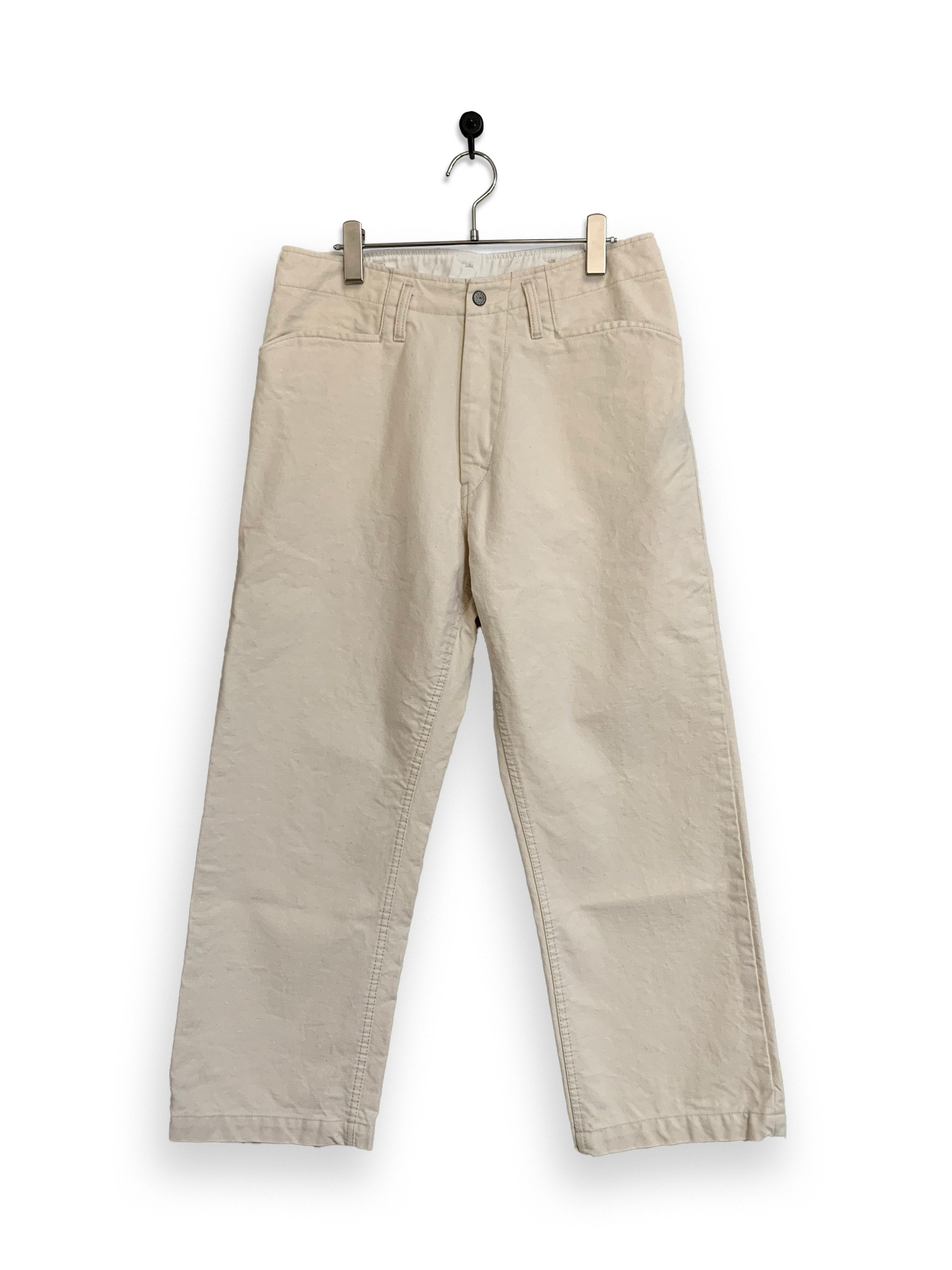 13.5oz Canvas Frisco Pants / one wash / natural